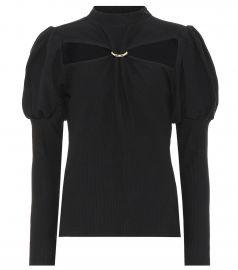 Mora cotton blouse at Mytheresa