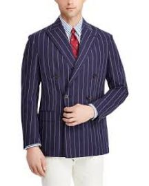 Morgan Stripe Suit Jacket at Ralph Lauren