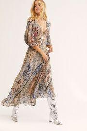 Moroccan Dreams Maxi Dress at Free People