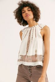 Morocco Embellished Tank at Free People
