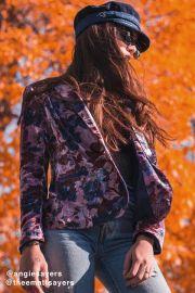 Morris Floral Velvet Blazer at Urban Outfitters