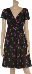 Moschino Cheap and Chic Strawberry Print Dress at The Outnet