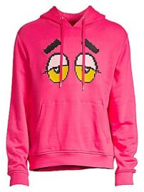 Mostly Heard Rarely Seen - Drowsy Eyes Pullover Hoodie at Saks Fifth Avenue