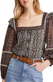 Mostly Meadow Blouse by Free People at Nordstrom