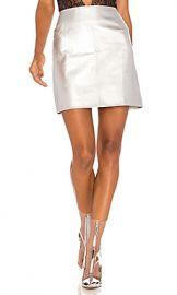 Motel Topaz Mini Skirt in Silver from Revolve com at Revolve
