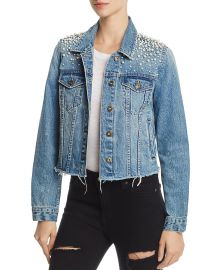 Mother-of-Pearl Denim Jacket by Sunset  Spring at Bloomingdales