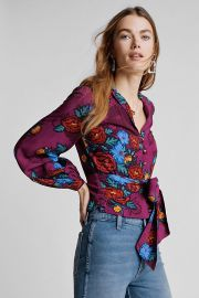 Moulinette Soeurs Maisie Blouse at Anthropologie