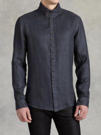 Multi Button Shirt at John Varvatos