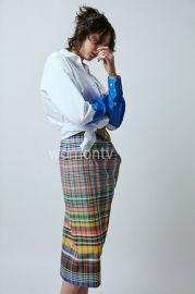 Multi Plaid Skirt by Dries Van Noten at Nordstrom