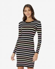 Multi-Stripe Knit Bodycon Dress by Milly at Zappos