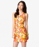 Multi colored print dress at Forever 21 at Forever 21