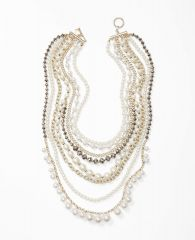 Multi strand pearl necklace at Ann Taylor