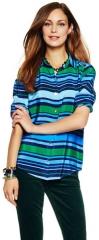Multi stripe shirt at C Wonder