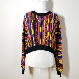 Multi stripe sweater at Forever 21