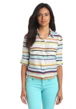Multi striped shirt by Nautica at Amazon