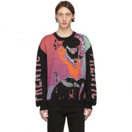 Multicolor Frentic Sweater by Alexander McQueen at SSense