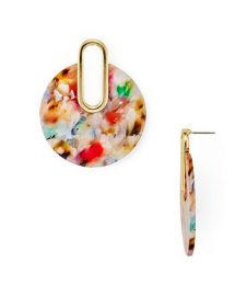 Multicolor Marled Drop Earrings at Bloomingdales