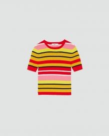 Multicolored Striped Sweater by Zara at Zara