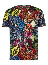 Multicoloured Floral T-Shirt  Topman at Topman
