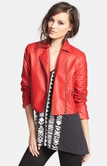Mural Quilted Crop Moto Jacket at Nordstrom