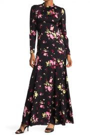 Murray Floral Long Sleeve Maxi Dress at Nordstrom Rack