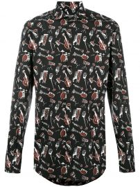 Musical Instrument Print Shirt by Dolce & Gabbana at Farfetch