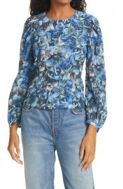 Mylee Floral Long Sleeve Blouse at Nordstrom