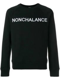 N  21 Nonchalance Embroidered Sweatshirt - Farfetch at Farfetch