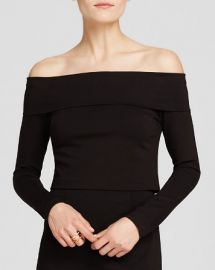 N Nicholas Top - Off The Shoulder Fold at Bloomingdales