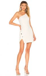 NBD Aldon Mini Dress in Ivory from Revolve com at Revolve