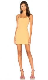 NBD Aria Mini Dress in Sunshine from Revolve com at Revolve