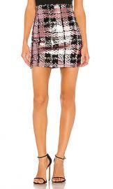 NBD Liz Mini Skirt in Rose Gold from Revolve com at Revolve