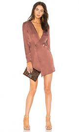 NBD Luke Dress in Chocolate Rose from Revolve com at Revolve