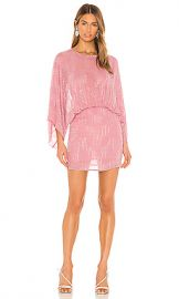 NBD Soliana Embellished Mini Dress in Blush Pink from Revolve com at Revolve