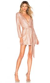 NBD x Naven Belle Dress in Light Champagne Pink from Revolve com at Revolve
