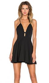 NBD x Naven Twins Everytime Skater Dress in Black from Revolve com at Revolve
