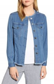NIC ZOE Ease of Mind Denim Jacket  Regular  amp  Petite    Nordstrom at Nordstrom