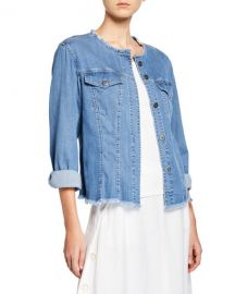 NIC ZOE Ease of Mind Denim Jacket at Neiman Marcus