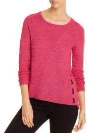NIC and ZOE NIC ZOE Ribbed Lace-Up Sweater Women - Bloomingdale s at Bloomingdales
