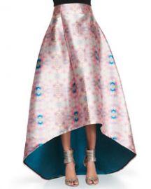 NOIR Sachin and Babi Avalon Printed High-Low Skirt at Neiman Marcus