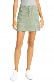 NSF Clothing Goldie Painted Miniskirt   Nordstrom at Nordstrom