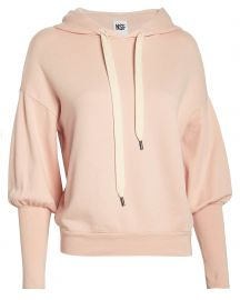 NSF Isabel French Terry Hoodie at Intermix
