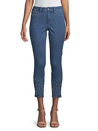 NYDJ - Ami Embellished Ankle Jeans at Saks Off 5th