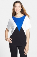 NYDJ Angular Colorblock Tee at Nordstrom