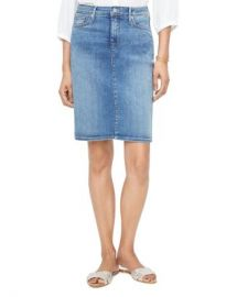 NYDJ Five-Pocket Denim Skirt in Rhodes Women - Bloomingdale s at Bloomingdales