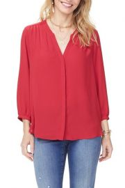 NYDJ Pleat back blouse at Nordstrom Rack