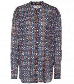 Nahla printed cotton shirt at Mytheresa
