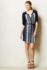 Naida Embroidered Shirtdress at Anthropologie