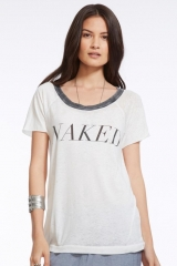 Naked tee by Chaser at The Trend Boutique
