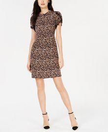 Nanette Lepore Printed Lace-Trim Dress  Created for Macy s Women -  Dresses - Macy s at Macys